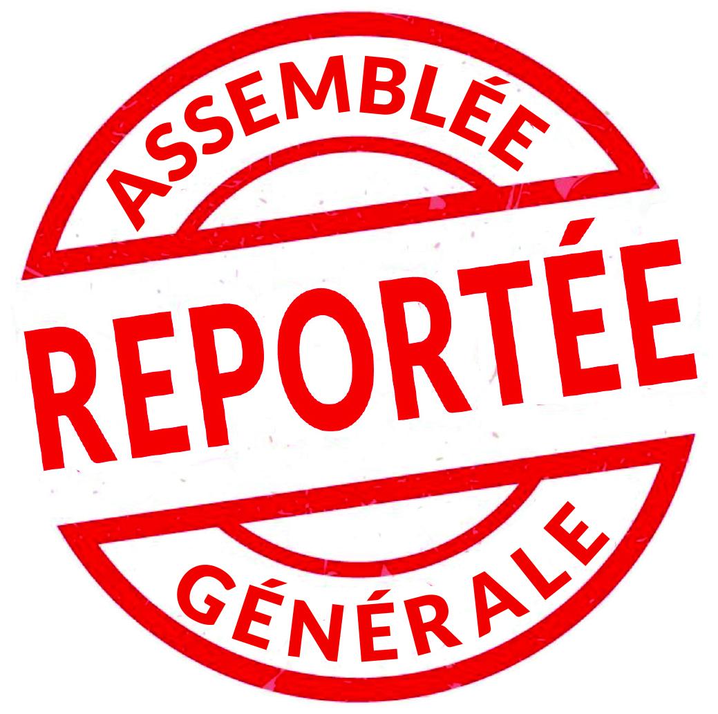 2020 Assemblée générale reportée